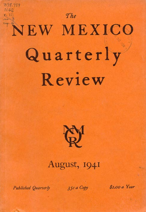TheNewMexicoQuarterlyReview1941August.jpg